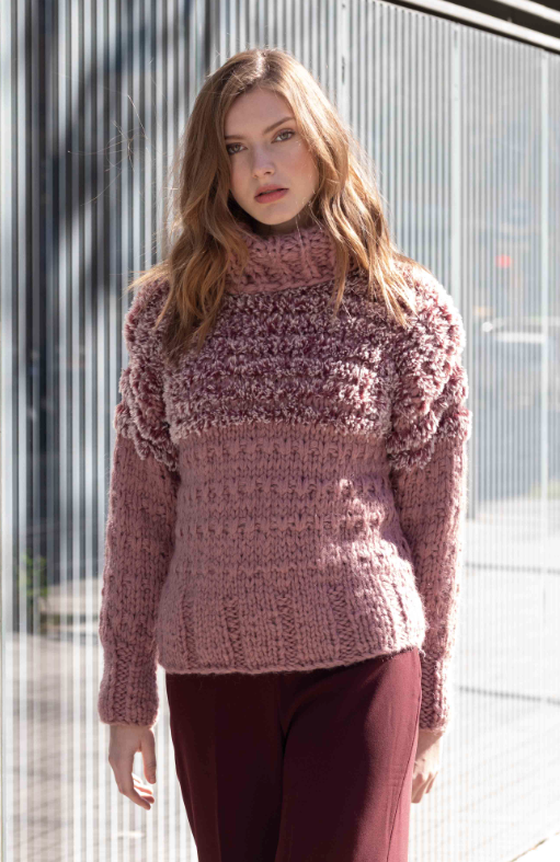 Pull Polar et Ingenious Big (21) Catalogue Urban n°102 Katia