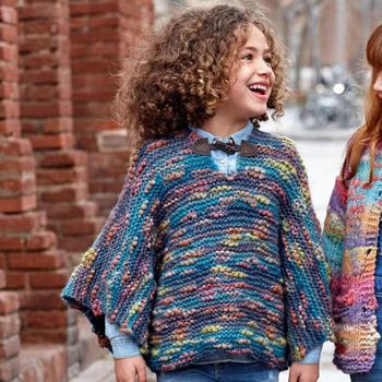 Poncho Kyoto (36) Catalogue n°79 Enfant (Katia)