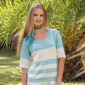 Pull Rustic Silk&Cotton 100% (29) Catalogue Katia n°78 City