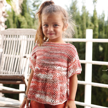 Pull Tahiti Beach (14) Catalogue n°77 Enfant (Katia)