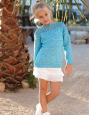 Pull fille Louisiana (27) Catalogue n° 85 Enfant (Katia)