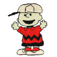 Ecusson Broderie Snoopy