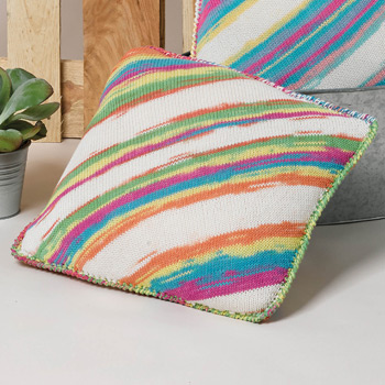 Coussin Degradé Sun (31A) Catalogue Katia n°87 Sport
