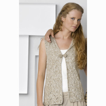 Gilet Duo Cotton (31) Catalogue Katia n°88 Casual