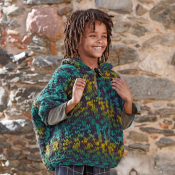 Poncho Kilt (30) Catalogue n°75 Enfant (Katia)
