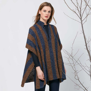 Poncho Silk Tweed (32) Catalogue n°4 Concept (Katia)