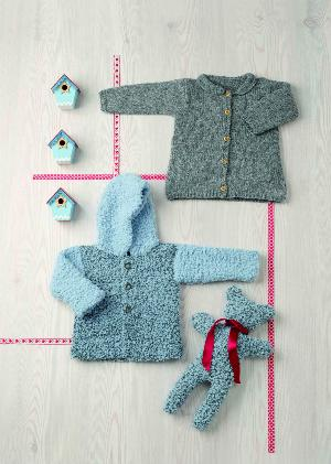 Doudou Ourson Big Chantilly (06) Catalogue n° 86 Bébé Layette (Katia)