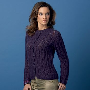 Pull Hechizo Plus 14 Catalogue Katia n°76 Elégance
