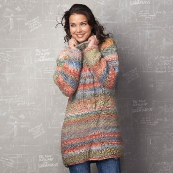 Pull long Inca (10) Catalogue n° 79 Adulte (Katia)