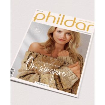 Catalogue Phildar n° 153 sélection printemps