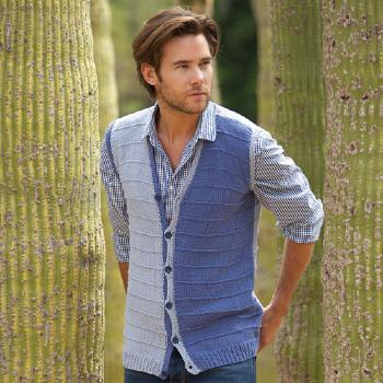 Gilet homme Alabama (25) Catalogue Katia n°78 City