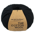 Fil The Cotton Wool Black- Pelote de 100 gr- We are Knitters