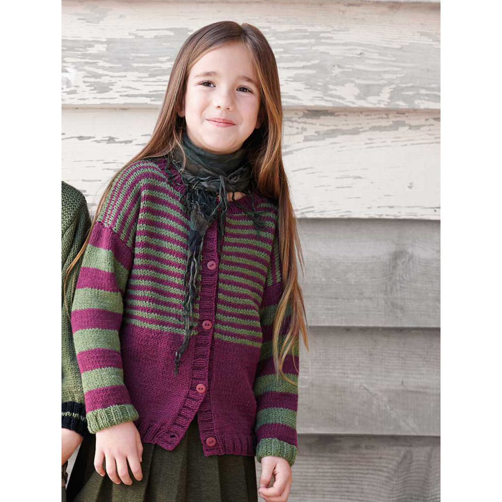 Gilet Pacific (27) Catalogue n°83 Enfant (Katia)