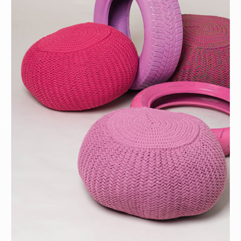 Pouf Big Ribbon (37BC) Catalogue Katia n°87 Sport