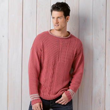 Pull homme Missouri (33) Catalogue Katia n°89 Chic