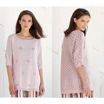 Pull long Cotton Cashmere (17) Catalogue n°3 Concept (Katia)