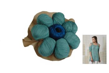 Bouquet de Pelotes de Laine Fair Cotton