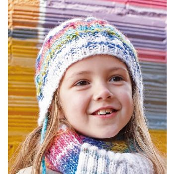 Bonnet Funky (44) Catalogue n° 71 Enfant (Katia)