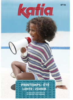 076 - Catalogue Katia Enfant n° 93 - Printemps Ete 2020