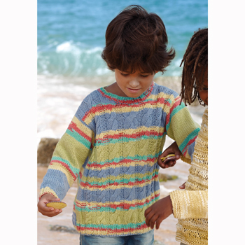 Pull Alabama Color (19) Catalogue n°77 Enfant (Katia)