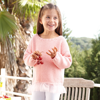 Pull Cotton 100% (10) Catalogue n°77 Enfant (Katia)