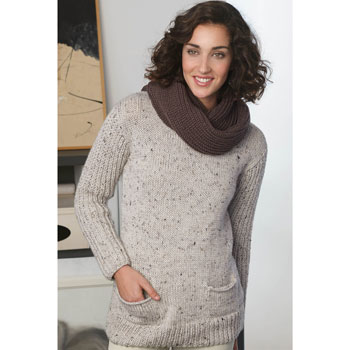 Pull Merino Tweed (30) Catalogue Basique n°10 Katia