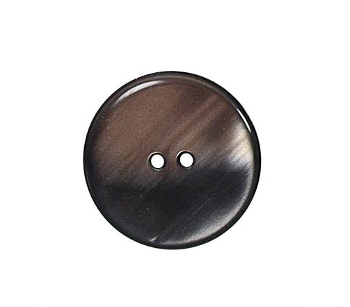 Bouton rond marron (lot de 3) 22mm - Distri